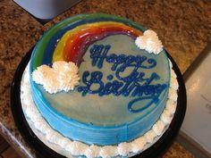 DQ Dairy Queen cakes...rainbow