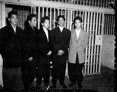 Zoot Suits: worn by young Mexican-American men as a symbol of cultural and ethnic rebellion.