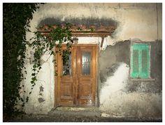"""Urban Painting""  House entrance at Koroni, Greece"