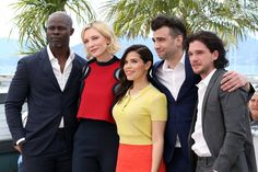 Pin for Later: All the Stars That Flocked to France For the Cannes Film Festival  The cast of How to Train Your Dragon 2 met up for a sunny photo op on Friday.