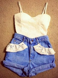 These are a little short but the idea of the pockets outlined in ribbon is awesome!