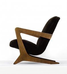 José Zanine Caldas; Lounge Chair for Moveis Artisticos Z, 1949.
