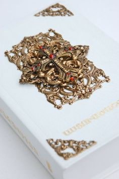 Embellished Bible in Armenian by TianaLorance on Etsy