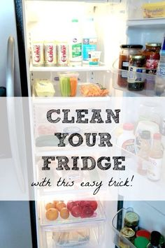 ✨ Clean Your Fridge With This Easy Trick! ✨ #Home #Garden #Trusper #Tip