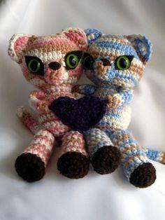 Gemini kittens crochet pattern