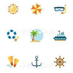 컬러, 바다, 여름, 여행, 해변, 오브젝트, 일러스트, freegine, illust, 아이콘, 시원, 시원함, 컬러풀, 썸머, 더위, 웹활용소스, 여름아이콘, 플랫, 에프지아이, FGI, 플랫일러스트, SILL107, SILL107_001, 여름아이콘001 #유토이미지 #프리진 #utoimage #freegine 18556321