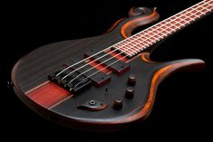 Hilton Guitars 4-string bass