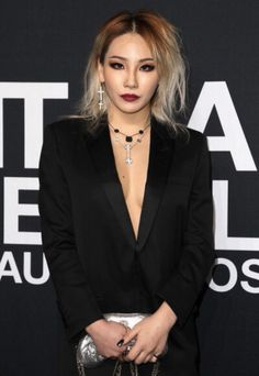 Muse: CL  Look: Saint Laurent
