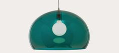 Kartell FL/Y coloured pendant light in a range of bright colours.  Retrotrace Vintage blog: How to brighten dull January days with the Heal's lighting sale. #Heal's Lights Fantastic, Lighting Sale, Bright Colours, Lovely Things, January, Range, Retro, Antiques, Pendant