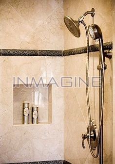 Tiled Shower Stalls | Tiled Shower Stall Stock Photos / Pictures / Photography / Royalty ...