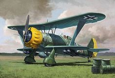 "The Hs 123 was intended to replace the Heinkel He 50 biplane reconnaissance and dive bomber as well as acting as a ""stop-gap"" measure until the Junkers Ju 87 became available. As such, production was limited and no upgrades were considered, although an improved version, the Hs 123B was developed by Henschel in 1938."