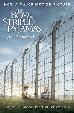 """The Boy in the Striped Pyjamas (El niño con el pijama de rayas) es una novela de 2006 del autor irlandés John Boyne. La acción se narra desde la inocente óptica de Bruno, hijo de un oficial de la Schutzstaffel nazi que se muda junto a su familia a un lugar llamado """"Auchviz"""" (en la versión original en inglés Out-With), que no es sino el campo de exterminio de Auschwitz."""
