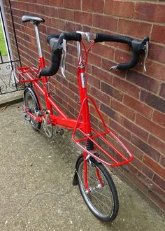 Moulton Bicycle, Atvs, Bicycling, Tricycle, Motorbikes, Mini, Wheels, Industrial, Frame