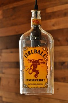 Fireball Cinnamon Whiskey this whiskey is so good. If you like cinnamon, Big Red Gum or Red hot candy this is the bomb!!! Great in shots!!!!! Oh and hubby loves it in Egg Nog great holiday drink!