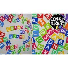 Los imanes letras contienen 75 imanes de 2x2 cm. Disponible en originales diseños. Es muy útil para facilitar el aprendizaje de los más pequeños o simplemente para dejar mensajes.  $55,00