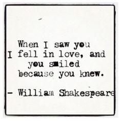Cute love quote!