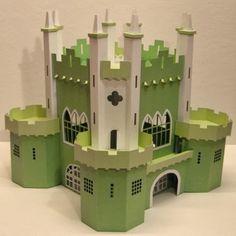 Tektonten Papercraft - Free Papercraft, Paper Models and Paper Toys: Papercraft Castle 3d Paper Crafts, Cardboard Crafts, Paper Toys, Paper Art, Castle Crafts, Deco Buffet, 3d Templates, Castle Project, Papercraft Download