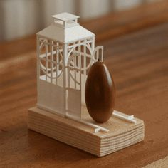 74 | greenhouse + acorn | Miniature Paper Architecture That Moves by Charles Young - My Modern Met