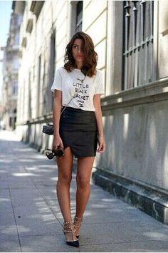 画像 : Tシャツはタイトスカートに合わせて大人可愛い夏コーデ♡ - NAVER まとめ