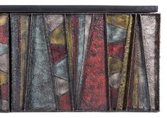Paul Evans Sculptural Wall Hung Cabinet, PE-42, 1967 For Sale 1