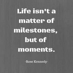 Make some moments today!
