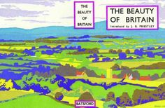 The Beauty Of Britain - graphic artist Brian Cook, Batsford book.