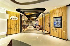 Chips Republic café by Alexchoi design & Partners, Hong Kong