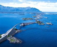 Storseisundet Bridge, Atlanterhavsveien, Norway