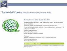 Cuenta atrás!! #torneo #golf #domingo #7-junio #golf_cuenca www.eplannergolf.com