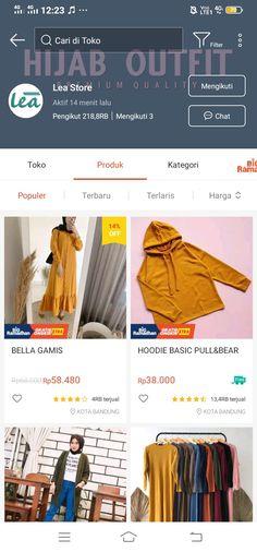 Hijab Fashion, Korean Fashion, Fashion Outfits, Shopping Websites, Online Shopping Clothes, Simple Outfits, Casual Outfits, Online Shop Baju, Facial Tips