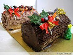 Christmas log cakes from Metrocakes, Singapore #sgmemory #archivingsg