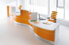 Lada recepcyjna VALDE #elzap #meblebiurowe #meble #furniture #poland #warsaw #krakow #katowice #office #design #officedesign #officefurniture #reception #receptiondesk www.elzap.eu www.krzesla.krakow.pl www.meble-metalowe.com