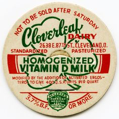 memories - we had a milkman deliver this milk to our home in a big green truck....late 50s