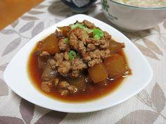 braised winter melon with pork | Taiwanese cuisine