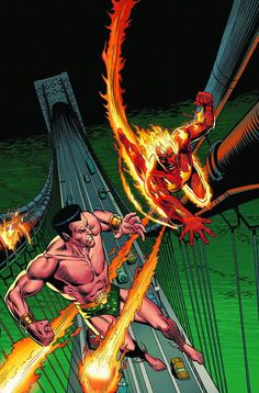 Namor the Sub-Mariner, Avenging Son of Atlanti s. Jim Hammond, the original android Human Torch. Two icons whose rivalry goes all the way back to the dawn of Marvel Comics. Now, learn the full story of two legendary adversaries who would one day be
