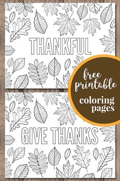 Thanksgiving Coloring Pages {Free Printable} | Paper Trail Design