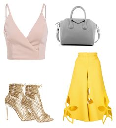 """Untitled #11"" by siyikeh on Polyvore featuring Gianvito Rossi, Givenchy and Rosie Assoulin"