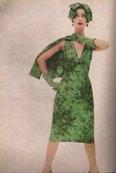 Nancy Berg for chesterfield, 1956  photo by Erwin Blumenfeld