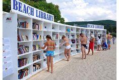 海に行ったら読書もいいね。海辺の図書館が開館です | roomie(ルーミー)