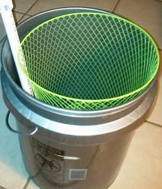 diy egg washer with large basket