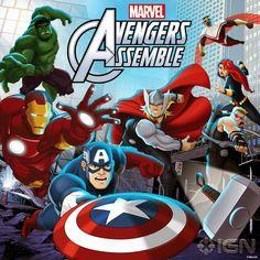 Primeiro clipe da segunda temporada do desenho Avengers Assemble ~ Universo Marvel 616