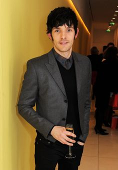Colin Morgan being his sexy, amazing self. Love him.