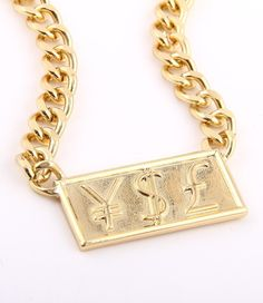 Image of YSL Necklace