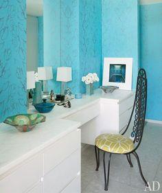 design de interiores quarto turquesa - Pesquisa Google
