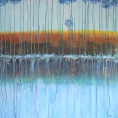 "Saatchi Art Artist Ank Draijer; Painting, ""REFLEXION"" #art"