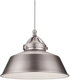 WAC Wyandotte G483 MP-LED483-Canopy, QP-LED483-Quick Connect Early Electric Pendant  Classic utilitarian styling with a nostalgic feeling. The timeless Wyandotte pendant is a staple amongst early electric reproduction luminaires. A handsome, industrial design with authentic metal hardware details for your kitchen, foyer or pool table.    WAC Lighting Early Electric Collection Pendants - Brand Lighting Discount Lighting - Call Brand Lighting Sales 800-585-1285 to ask for your best price!