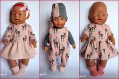Baby Born, Sewing For Kids, Gifts For Kids, Baby Dolls, Doll Clothes, Fashion, Stuff Stuff, Gowns, Presents For Kids