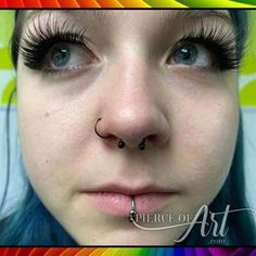 Image gallery of some piercings we have done out of our studio at Pierce of Art Chesterfield. All of our body piercings are done on a walk-in basis. Body Piercings, Body Modifications, Body Mods, Septum Ring, Lips, Tattoos, Ideas, Art, Art Background