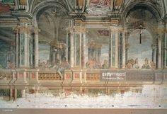 Fine art : The Marriage at Cana, by Pozzo Andrea, 17th Century, fresco