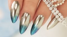 Chrome/Mirror 2Color Fade - Step By Step Tutorial - YouTube